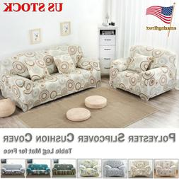 Sofa Cover Slipcover Polyester Spandex Stretch Cushion Cover