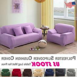 Sofa Furniture Cushion Cover Slipcover Polyester Spandex Str