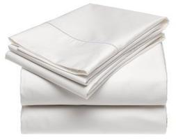 Sheetsnthings Bed Sheet Set, 300 Thread Count - King Solid W