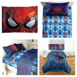 Marvel Spiderman Bedding Three Piece Twin Sheets or Two Piec