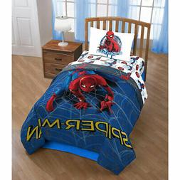 Marvel Spiderman Wall Crawler 3 Piece Twin Sheet Set