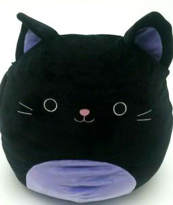 "Squishmallow Autumn Black Cat 12"" Plush Pillow NWT Kellytoy"
