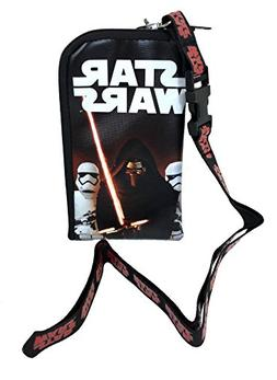 "Star Wars ""The Force Awakens"" Storm Trooper Keychain Lanyard"