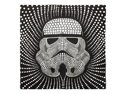 "Star Wars Storm Trooper Dots Square 26"" x 26"" Euro Sham with"