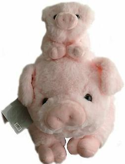 Stuffed Animals - Pig & Baby Piglet - Toy - Gifts - Super So