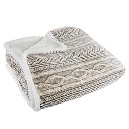 Super Soft and Fuzzy Heavy Warm Cozy Snuggle Sherpa Blanket