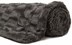 Super Soft Fuzzy Throw Blanket Faux Chanasya Fur Elegant Rec