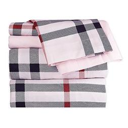 Dor Extreme Super Soft LuxuryBlack, Checkered Bed Sheet Set