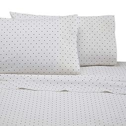 Martex Cotton Rich Bed Sheet Set - Brushed Cotton Blend, Sup