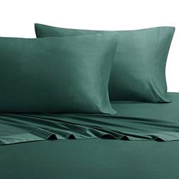 Royal Hotel Twin Extra Long Teal Silky Soft bed sheets 100%