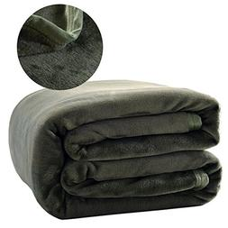 Throw Blankets 100% Plush Microfiber, Lightweight, Comfy and