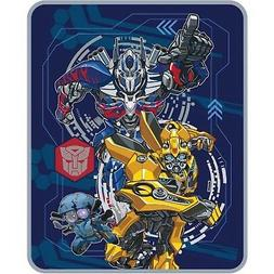 "Transformers 5 Plush Throw Blanket - 40"" x 50"""