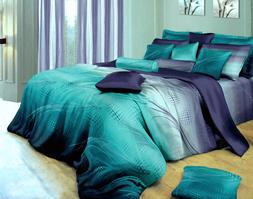 Twilight-P Cotton Bedding Set: Duvet Cover Set or Sheet Set,