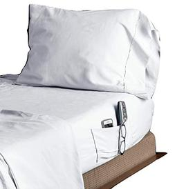 Speedy Sheets 3 Piece Twin Bed Sheet Set, Fitted and Top Sew