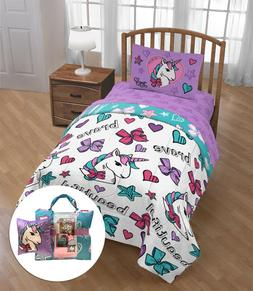 Twin Bedding Sets For Girls JoJo Siwa Unicorn Comforter Bed
