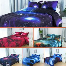 Twin/Full/Queen Galaxies Comforter Set All-season Down Quilt