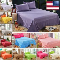 Bed Flat Sheets Twin Full Queen Size Bedding Flat Sheet Pill