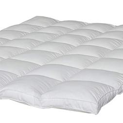 King Mattress Topper Down Alternative, Quilted Pillow Top Ma