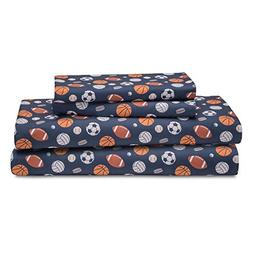 HowPlum Sport Twin Sheet Set Microfiber Kids Boys Athlete So