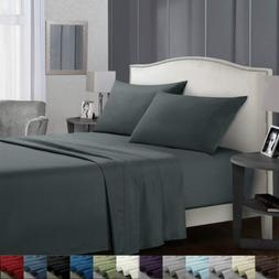 Twin Size Bed Sheets Set Egyptian Comfort Sheets Count Deep