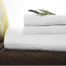 "twin xl fitted premium hotel bed sheet 36""x80""x9"" t180 perca"