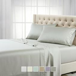 Ultra Soft  600 Thread Count 100% Tencel Bed Sheets Eucalypt