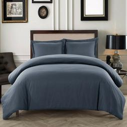 Dreaming Casa Ultra Soft Zippered Duvet Cover Set for Comfor