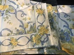 Home Treasures USA New 1pc Queen Sheet 100% Pinted Cotton It