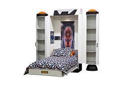 """Fable Bedworks Wallbed, """"Deepspace Defender,"""" Twin Size Spac"""