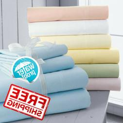 Waterproof Bed Mattress Protector Cover Sheet Fitted Sheet