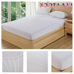 Waterproof Mattress Cover Protector King Queen Full Size Fit