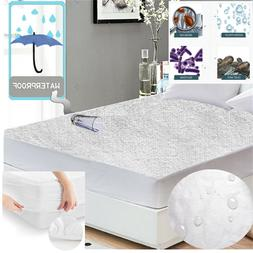 FULL Mattress Cover Protector Waterproof Terry Towel Extra D