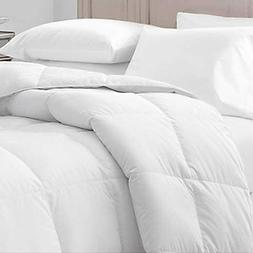 Willow Highlands White 55 Oz Queen Size Down/feather Comfort