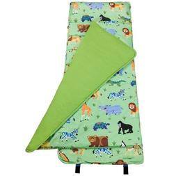 Wildkin Original Nap Mat, Features Built-In Blanket and Pill