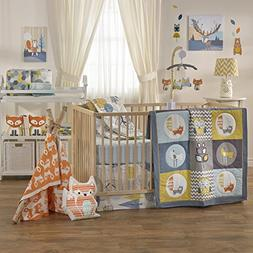Lolli Living 4-Piece Baby Bedding Crib Set with Woods Patter
