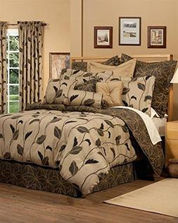 Yvette Brown King 4 Piece Comforter Set by Thomasville, 15""